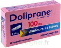 Doliprane 100 Mg Suppositoires Sécables 2plq/5 (10) à Tours