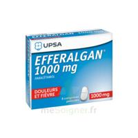 Efferalgan 1000 Mg Comprimés Pelliculés Plq/8 à Tours