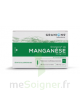 Granions De Manganese 0,1 Mg/2 Ml S Buv En Ampoule 30amp/2ml à Tours