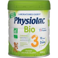 Physiolac Bio Lait 3éme Age 800g à Tours