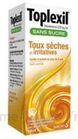 Toplexil 0,33 Mg/ml Sans Sucre Solution Buvable 150ml à Tours