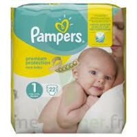 Pampers New Baby Premium Protection, Taille 1, 2 Kg à 5 Kg, Sac 22 à Tours