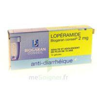 Loperamide Biogaran Conseil 2 Mg, Gélule à Tours