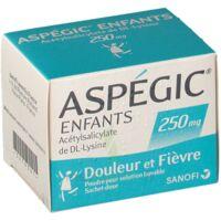 Aspegic Enfants 250, Poudre Pour Solution Buvable En Sachet-dose à Tours