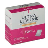 Ultra-levure 100 Mg Poudre Pour Suspension Buvable En Sachet B/20 à Tours