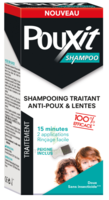 Pouxit Shampoo Shampooing Traitant Antipoux Fl/200ml+peigne à Tours