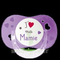 """Luc Et Léa Sucette Symétrique +6mois """"j'aime Ma Mamie"""" B/1 à Tours"""