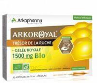 Arkoroyal Gelée Royale Bio 1500 Mg Solution Buvable 20 Ampoules/10ml à Tours