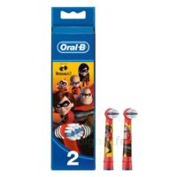 Oral B Incredibles 2 Brossette Kids Blister/2 à Tours