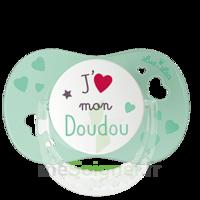 """Luc Et Léa Sucette Physiologique +6mois Spécial Bébé Allaité """"j'aime Mon Doudou"""" à Tours"""