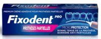 Fixodent Pro Crème Adhésive Pour Prothèse Partielle T/40g à Tours