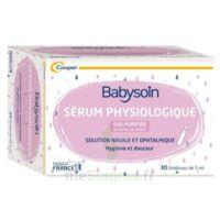 Babysoin Solution Sérum Physiologique 30 Unidoses/5ml à Tours