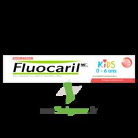 Fluocaril Kids Dentifrice Fraise 0-6 Ans T/50ml à Tours