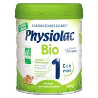 Physiolac Bio 1 Lait En Poudre B/800g à Tours